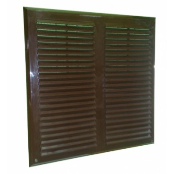 Вент.решётка «MAXPOL» 350х350 (коричневая)