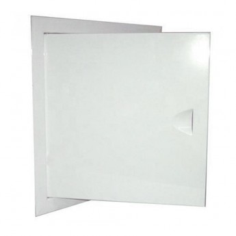 Люки металлические белые 10х15
