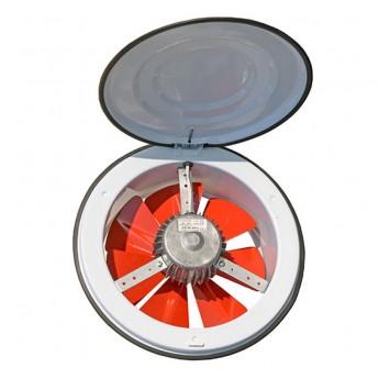 Осевые настенные вентиляторы с клапаном  DUNDAR  (Турция)   (круг) K 25