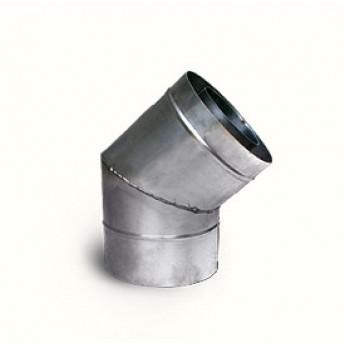 Колено (135 градусов) Ø 150/220 мм нерж. стали