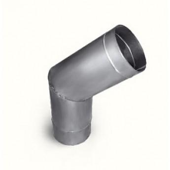 Колено (135 градусов) Ø 140 мм из нерж. стали