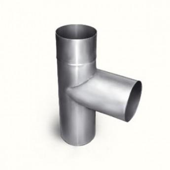 Тройник со стаканом Ø 140 мм, b=1,2 мм, сталь 3