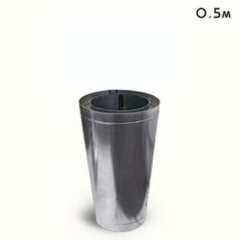 Труба из нержавеющей стали 0.5м 180/250мм