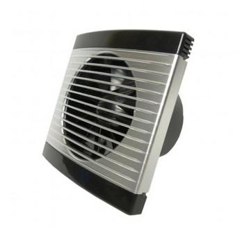 Вентилятор настенный Ø 100 Шнурок+Вилка,m³/h 100 -Satin
