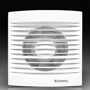 Вентилятор настенный Ø 120 Стандартный+Обратный клапан, m³/h 150 - STYL