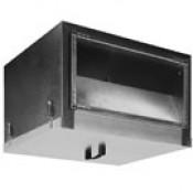 IRF VIM прямоугольные канальные вентиляторы в звуко- и теплоизолированном корпусе