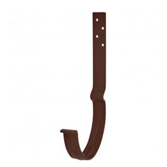 Крюк желоба удлинённый металл.125 мм