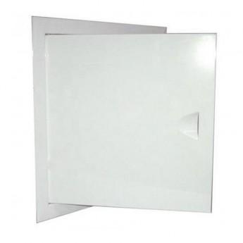 Люки металлические белые 15х25
