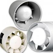 Бытовые канальные вентиляторы