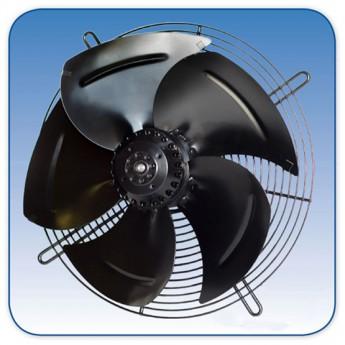 Реверсивные осевые настенные вентиляторы BAHCIVAN (плоская сетка) -4M 350