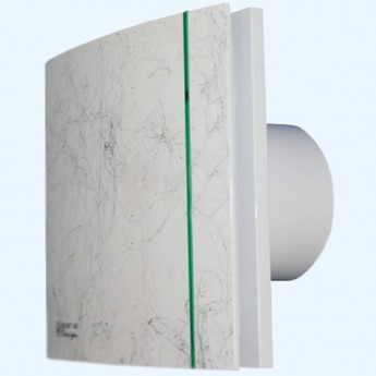 Silent 100CZ Design marble white