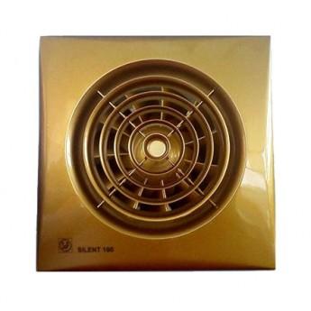 Бытовой накладной вентилятор Silent-100 CZ Gold