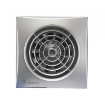 Бытовой накладной вентилятор Silent-200 CRZ Silver